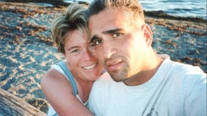 John & Maryanne on beach