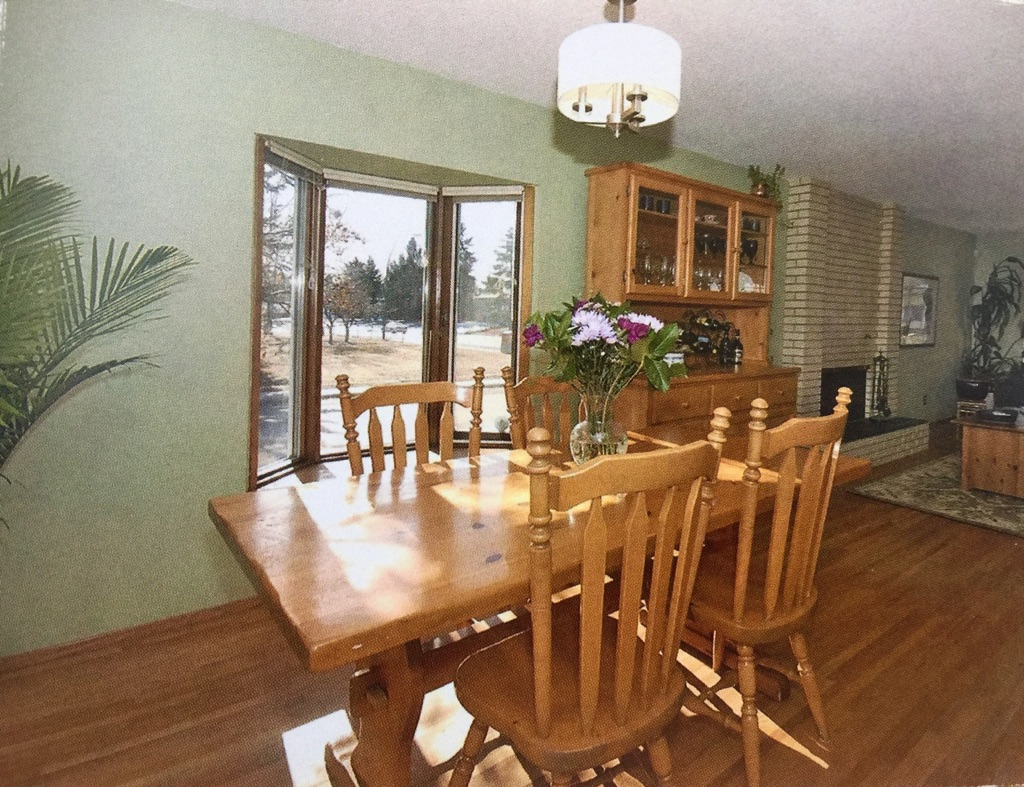 dining room in calgary home