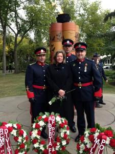 Cliff, MA, Joel and Glenn in Edmonton, Sept 2013