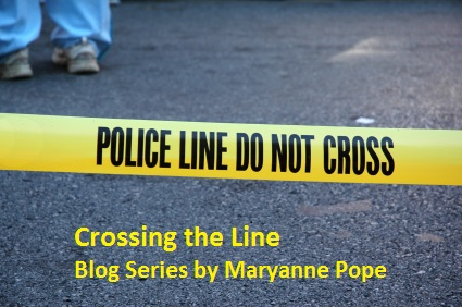 Crossing the Line blog series logo