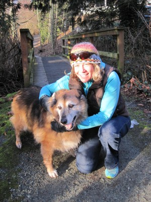 Maryanne & Soda, Sidney, BC, January 2014