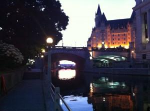 Canal in Ottawa