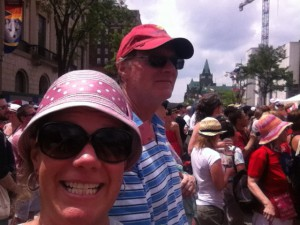 MA & Pat on Canada Day