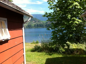 cabin at Lake Cowichan