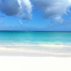 Beach and Sky on Tippy's Beach, Eleuthera