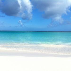 Beach and Sky on Tippy's Beach, Eleuthera