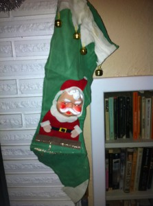 Old Santa Stocking
