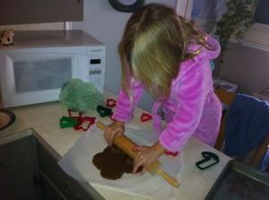 ella rolling dough
