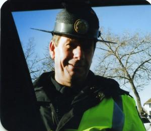 rick in Sheriff's hat