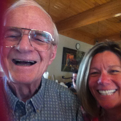 MA & Dad Selfie May 2015