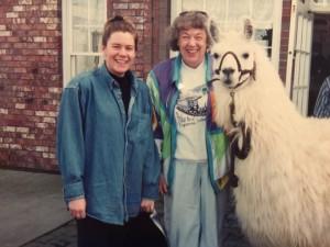 Mom & MA & Llama