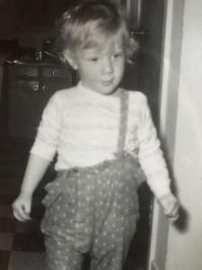 Doug as toddler