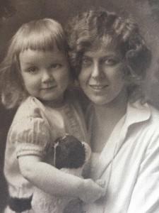 Nan Nan with Mom as a baby