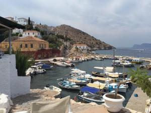fishing village on Hydra