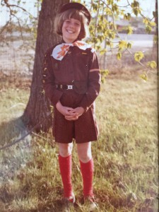 MA in Brownie outfit