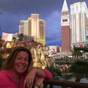 MA with cool Vegas skyline behind and dark clouds