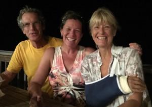 Ted, Sylvie & MA at fish fry