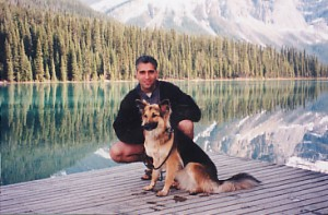 John & Sable at Emerald Lake