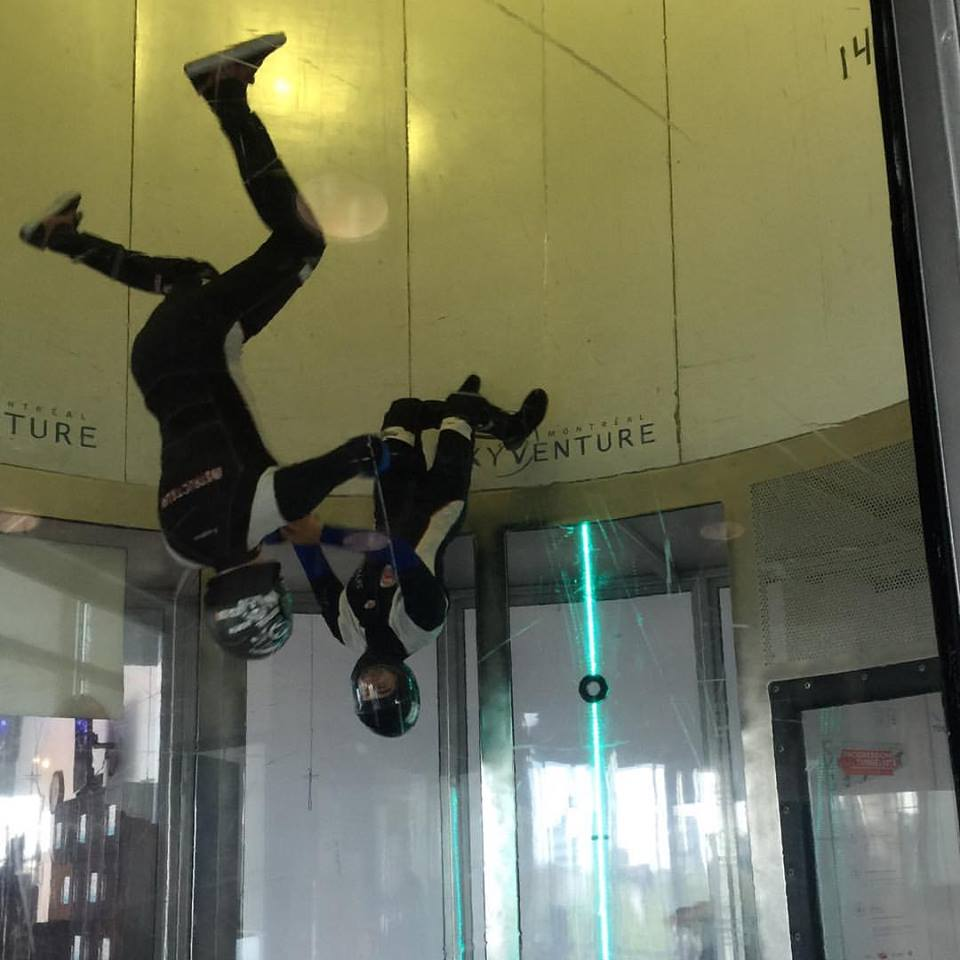pros in wind tunnel flying