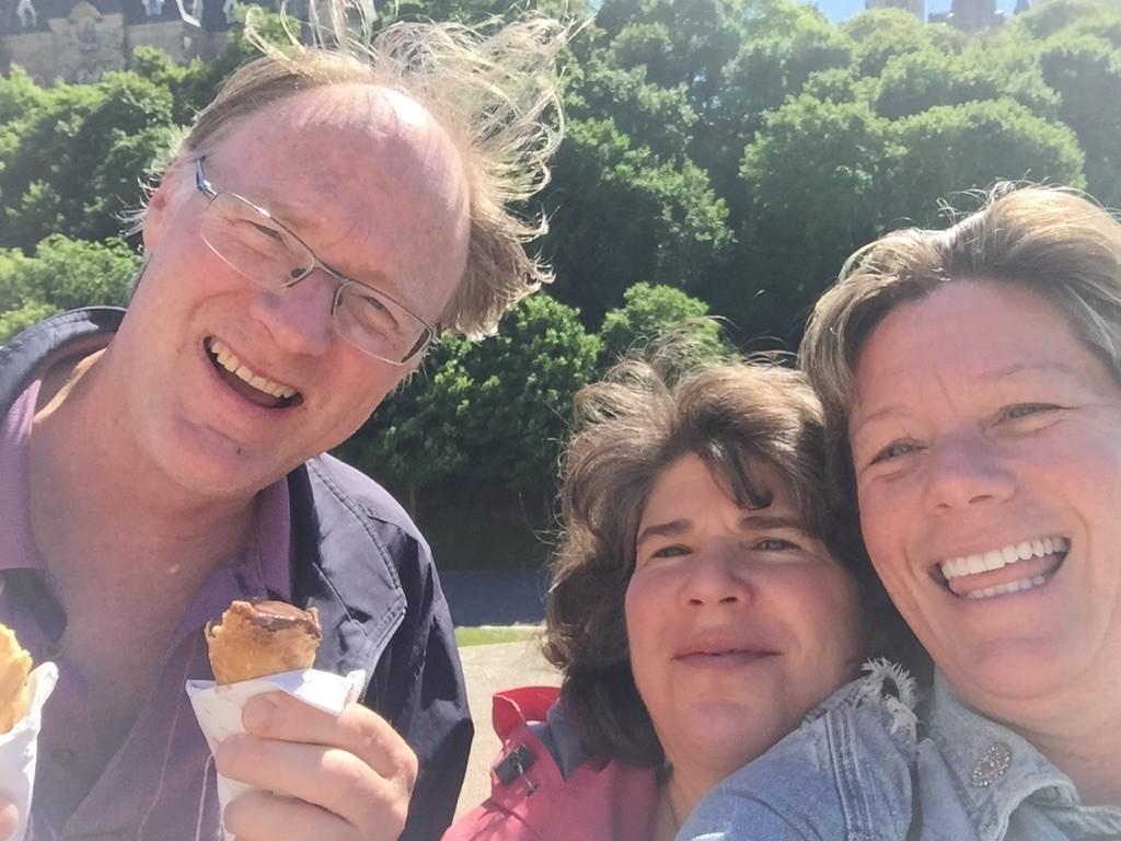 MA, Pat & Mary in Ottawa