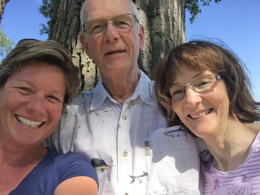 MA, Uncle Doug and Karen