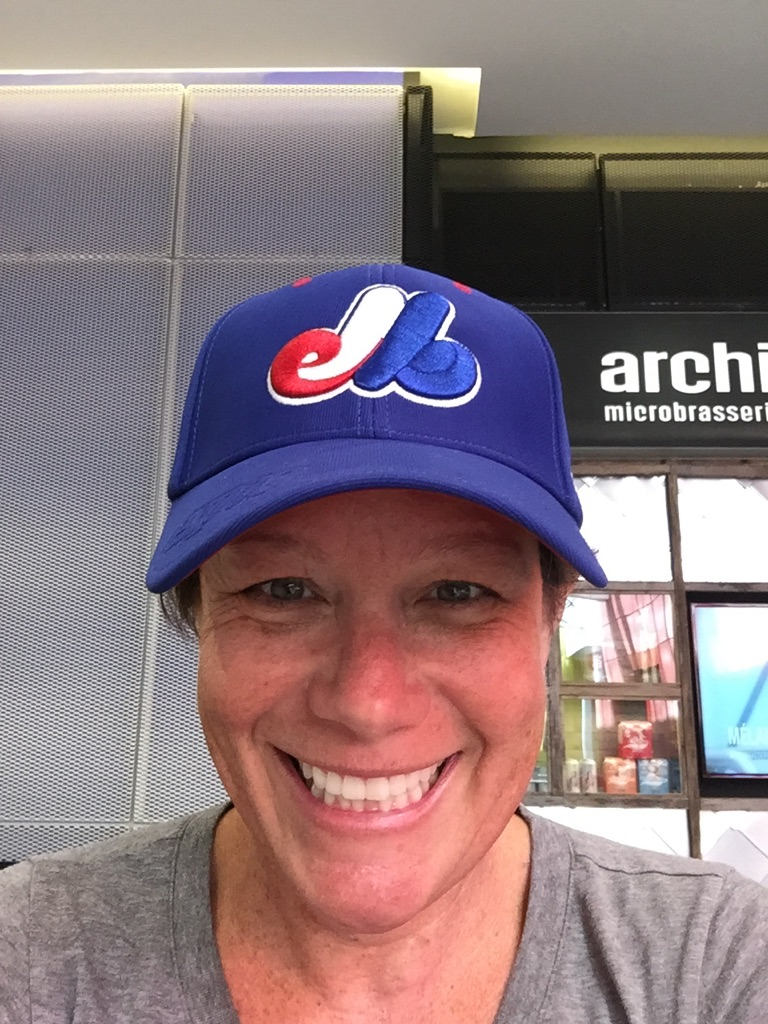 MA in Expos hat
