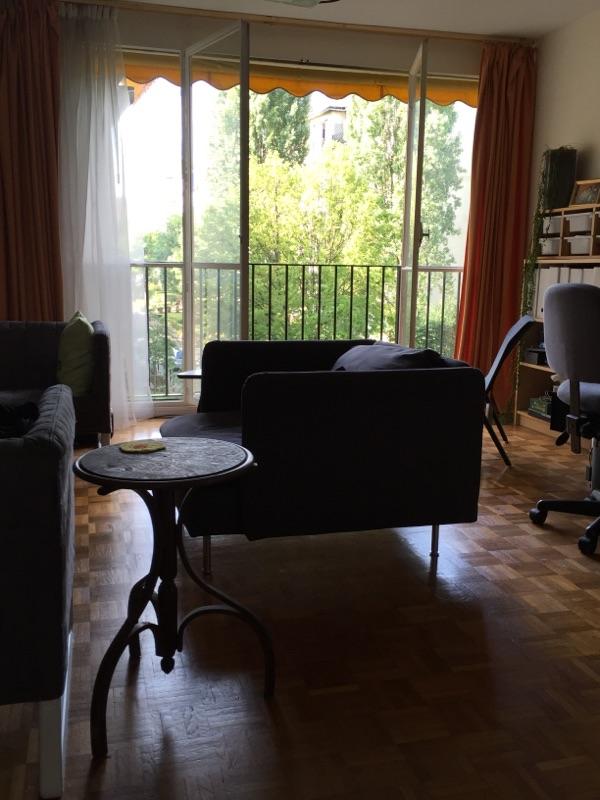 Paris apartment in morning