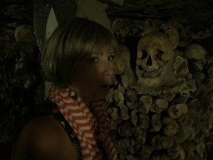 Tracey & skull