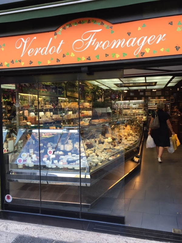 cheese shop in Sceaux