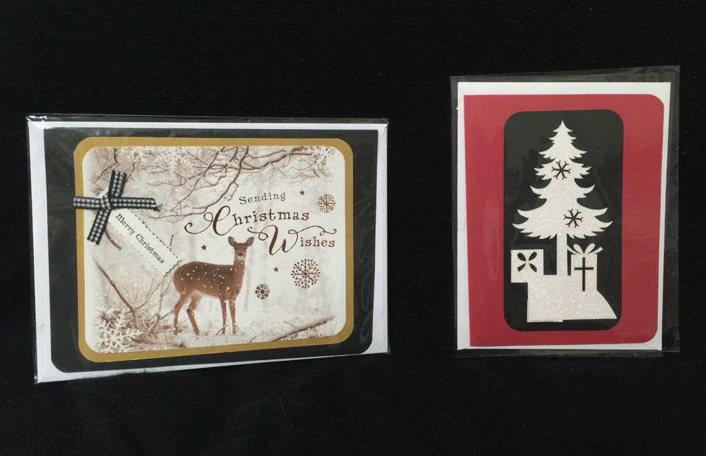 christmas-cards-deer-and-tree