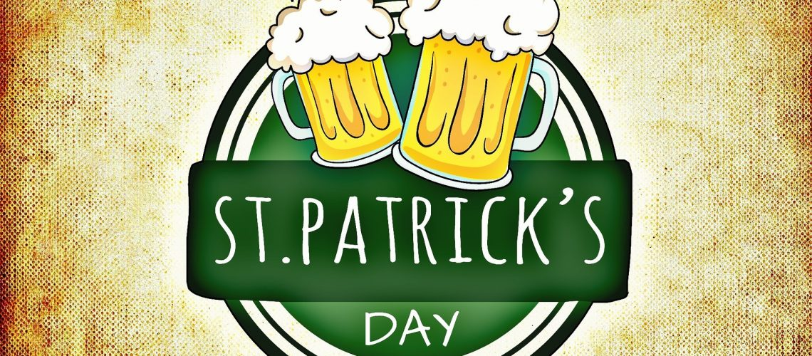 happy st patricks day with beer